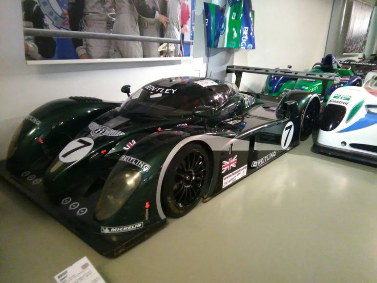 Bentley Racing, Le Mans  24 hour race 2003 winner and second place 2003