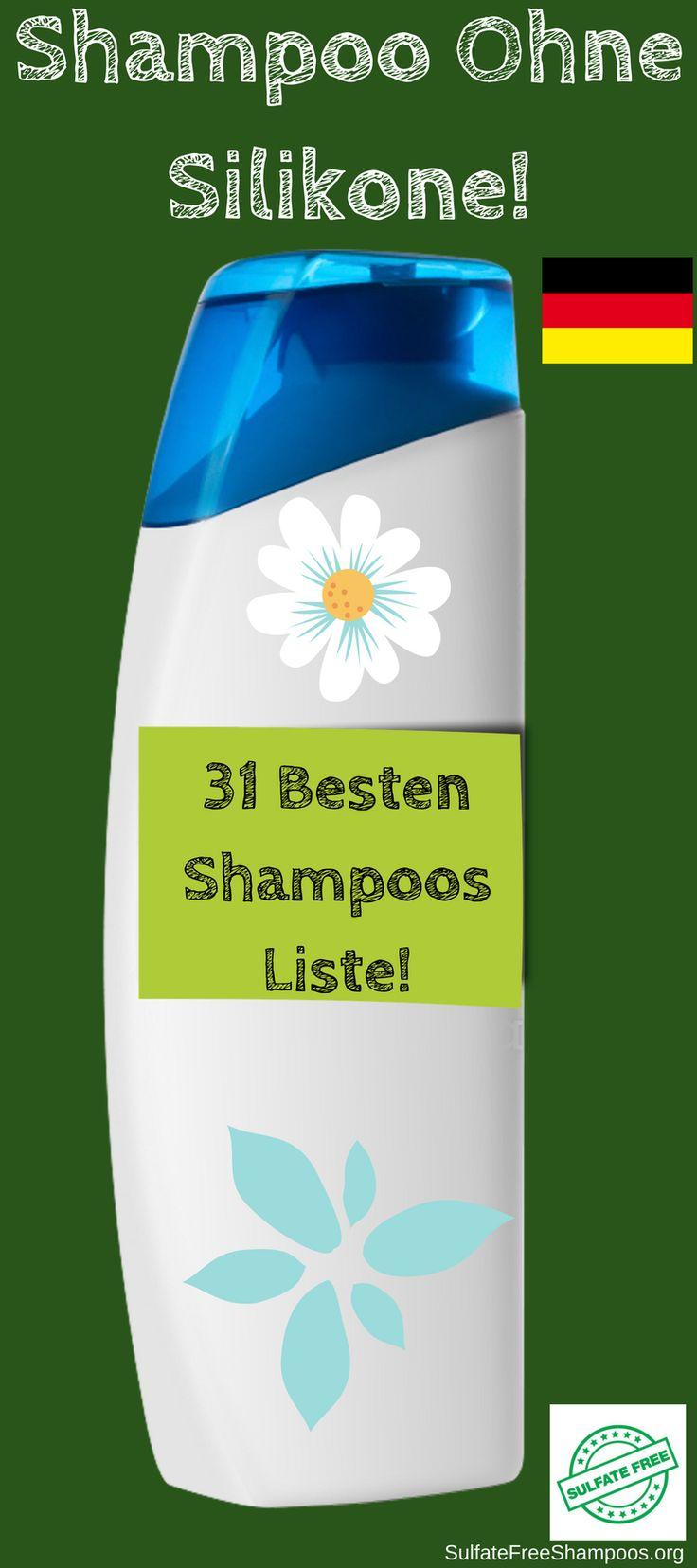 Shampoo ohne silikone. 31 besten shampoos liste.