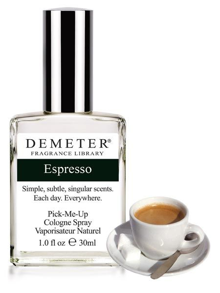 Espresso by Demeter: Contains notes of dark roasted coffe beans, sugar, milk and a drizzle of cocoa.