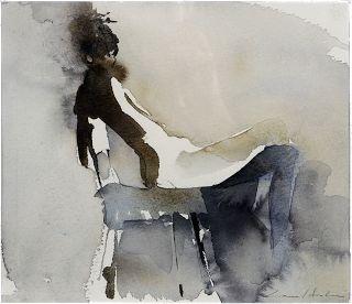 Lars Holm - Akvarell: Bilder