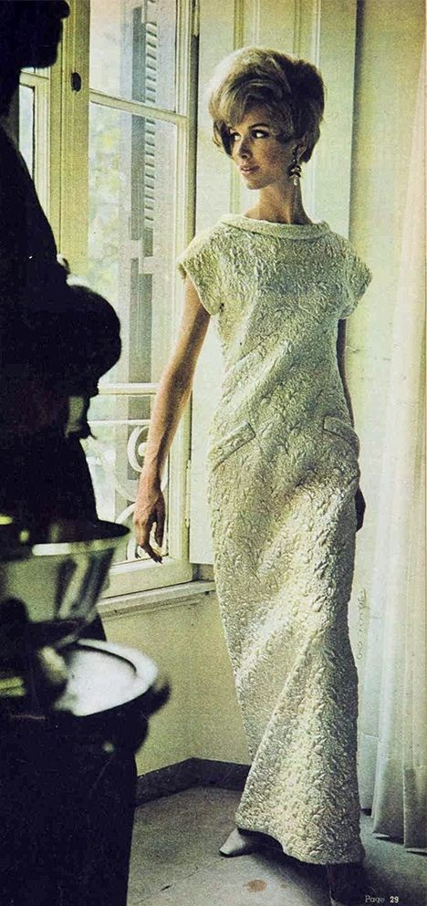 422 best 1960-1965 long evening dresses and ensembles images on ...