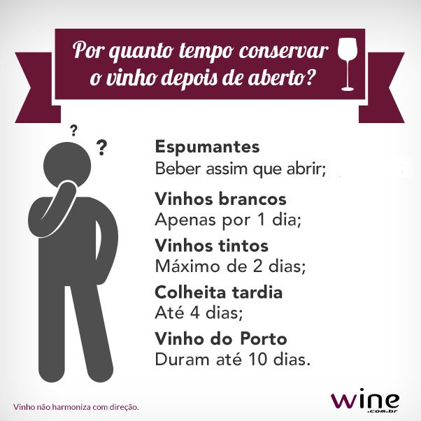 Aprenda a conservar melhor os vinhos depois de aberto com as dicas do Sommelier…
