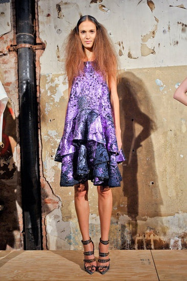 great dress shape at cynthia rowley