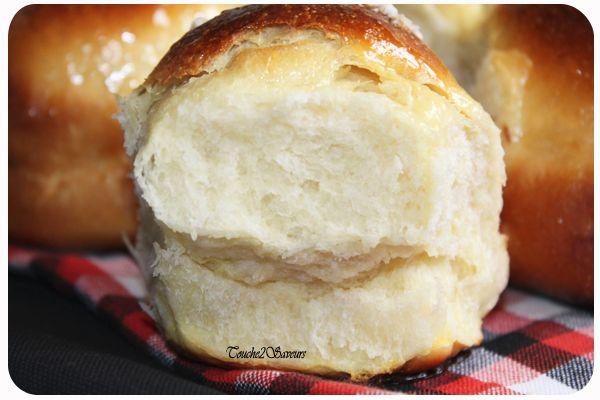 Brioche très légère au fromage blanc 500g de farine T55 250g de fromage blanc…