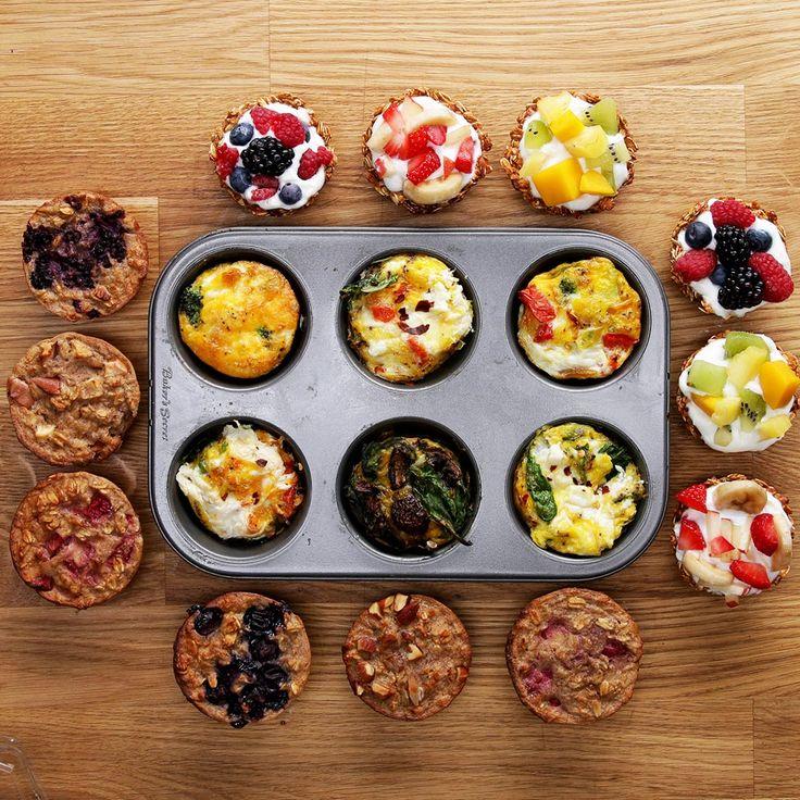 Muffin dulces o salados