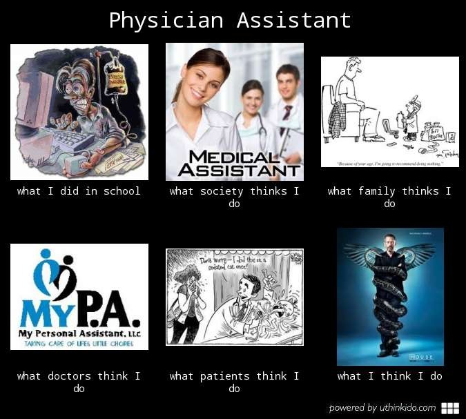 Physician Assistant cheap stuff on the internet