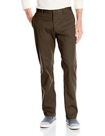 Volcom Men's Frickin Modern Stretch Chino Pant 59% Cotton/39% Polyester/2% Elastane Imported Button closure Machine Wash Modern-fit Chino pant with asymmetric back yoke, side-seam pockets, and rear welt pockets 32-inch inseam, 16-inch leg opening Zip fly with button http://www.amazon.com/gp/product/B00G336Y0S/ref=as_li_tl?ie=UTF8&camp=1789&creative=390957&creativeASIN=B00G336Y0S&linkCode=as2&tag=pinterest069-20&linkId=QTMXDLUH7VEJKUDB