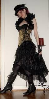 Image result for steampunk saloon girl