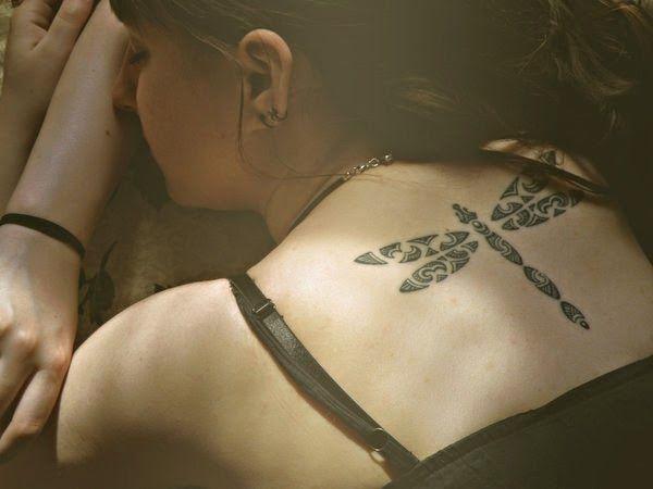 Belagoria: Tribales y tatuajes femeninos de espalda