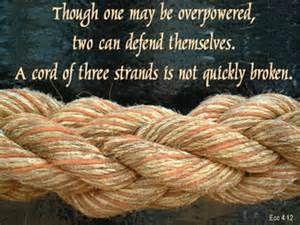 ecclesiastes 4:9-12 - Bing Images
