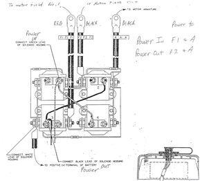 Power Winch Solenoid Wiring Diagram - Wiring Diagrams on