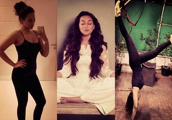 Fit 'n' fabulous Sonakshi Sinha's tryst with weight loss (view pics)