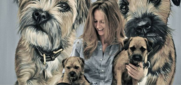 Andy Murray's girlfriend reveals her arty side!  If you've watched any of Andy's games on TV you might have spotted a close-up of Kim Sears, but did you know that she is an artist too? To celebrate the start of Wimbledon, we take a look at what Kim gets up to away from Centre Court...