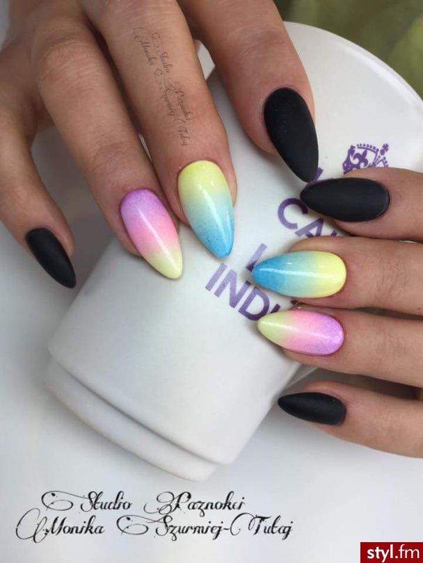 106 best paznokcie images on Pinterest   Gel nails, Manicures and ...