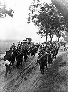 The Soviet invasion of Poland was a Soviet military operation that started without a formal declaration of war on 17 September 1939.