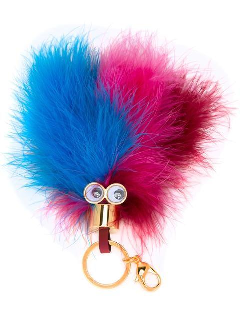 SOPHIE HULME feather keyring charm. #sophiehulme #charm