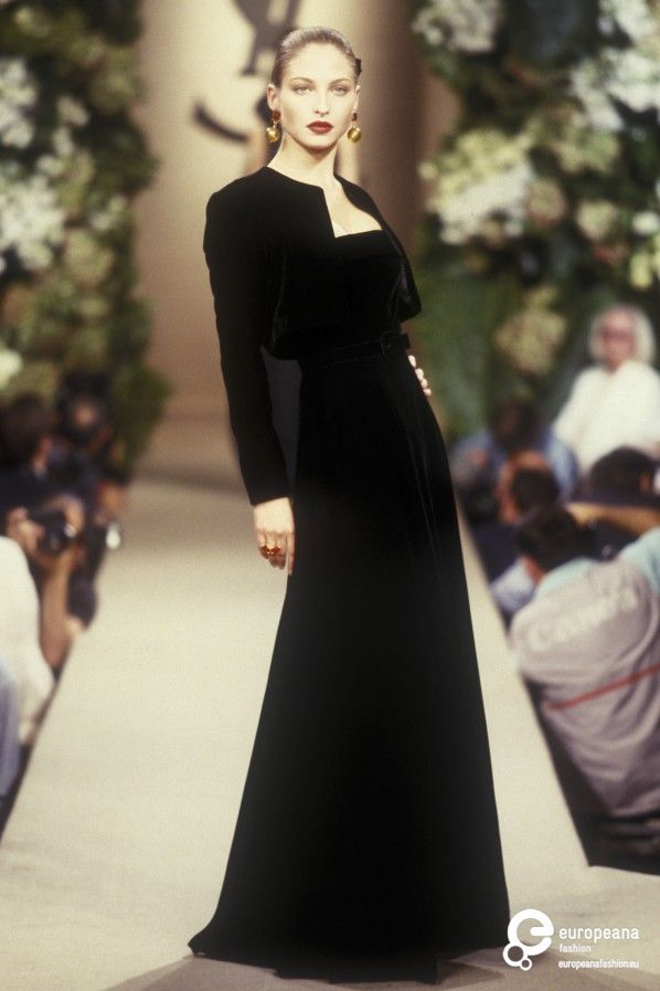 Abiti Da Sera Yves Saint Laurent.Yves Saint Laurent Autumn Winter 1998 Couture Yves Saint