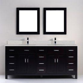 double bathroom sink. Spa Bathe Kenzie Espresso Undermount Double Sink Bathroom Vanity with  Engineered Stone Top Common Best 25 sink bathroom ideas on Pinterest sinks
