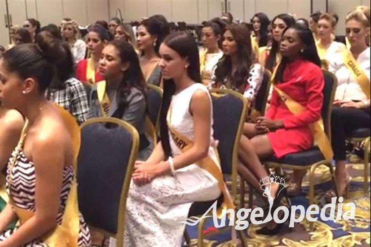 Contestants Meeting with the Miss Grand International 2016 President