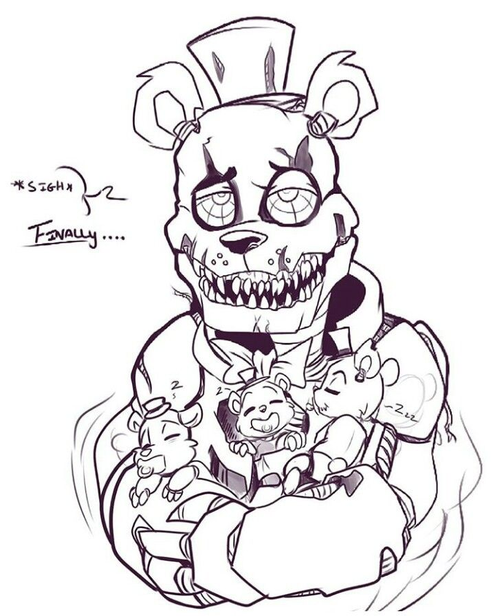 Awwwww Fnaf Drawings Fnaf Art Anime Fnaf