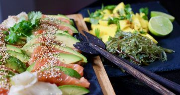Verdens beste sashimi – Berit Nordstrand
