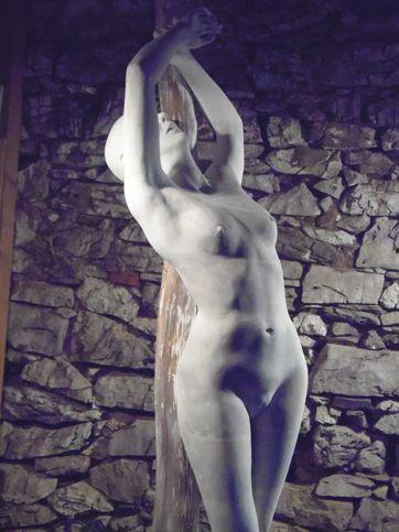 """""""San Sebastiano"""" gesso grandezza naturale."""