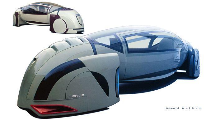 Minority Report Mag-Lev, futuristic vehicle, concept car, future transportation