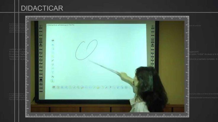 """Tutorial manejo básico """"Pizarra Digital interactiva"""""""