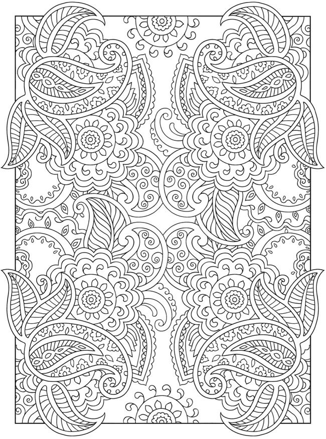 Welcome To Dover Publications Creative Haven Mehndi Designs Collection Colouring Book