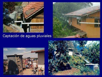 Manejo sostenible de agua en una casa familiar