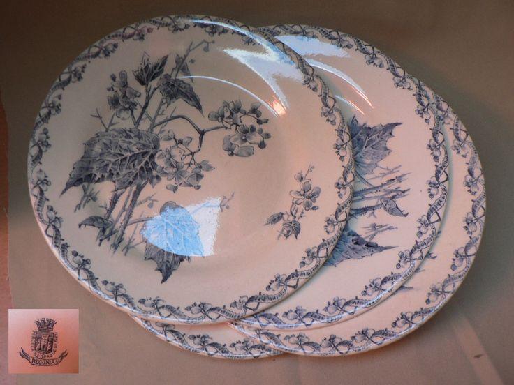 Extrêmement Les 154 meilleures images du tableau GIEN et autres vaisselles  SO14
