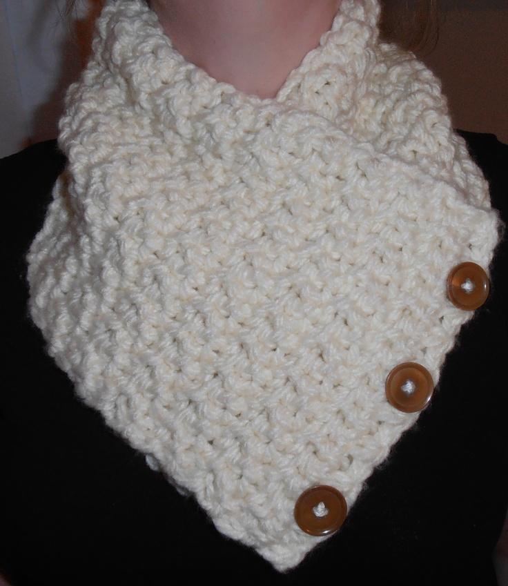 Crochet Neck Warmer Made Using Pattern From Raverly