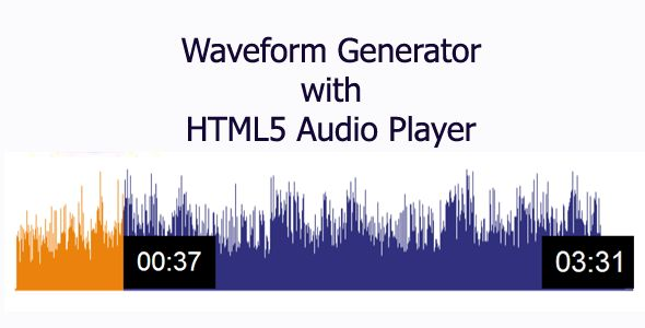There are so many advanced features available : 1) Template is Responsive 2) Player is working for all major browsers 3) Waveforms will be automatically created while uploading audio 4) Waveform colours can be set to any colour 5) Player start point can be set to any point of the waveform in the page loading  6) Working on Mobile devices