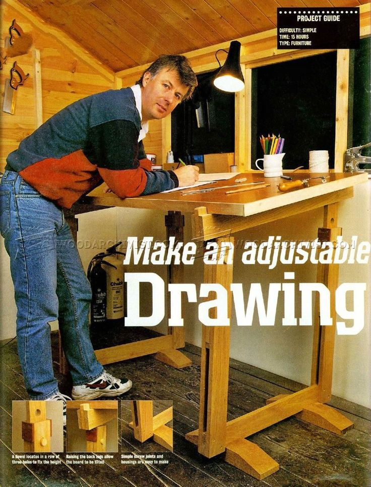 Drawing Board Plans - Furniture Plans Woodworking Plans