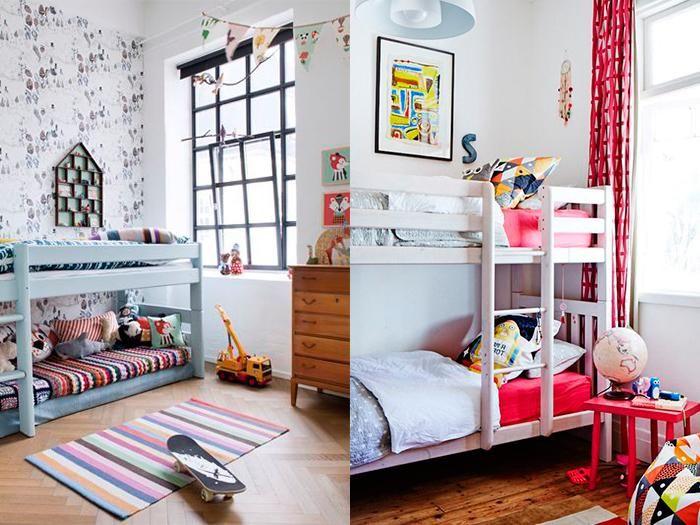 dormitorios infantiles con literas espacios mgicos
