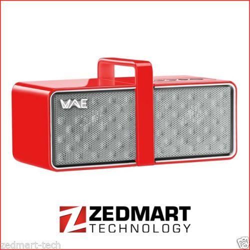 Thrustmaster-Hercules-Red-WAE-BTP03-Mini-Portable-Bluetooth-Speaker