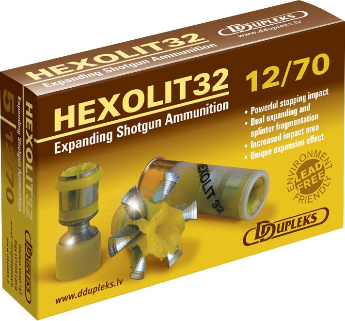 Ddupleks Hexolit extreme expansion slug Ouch!!  I want some of these for home defense.