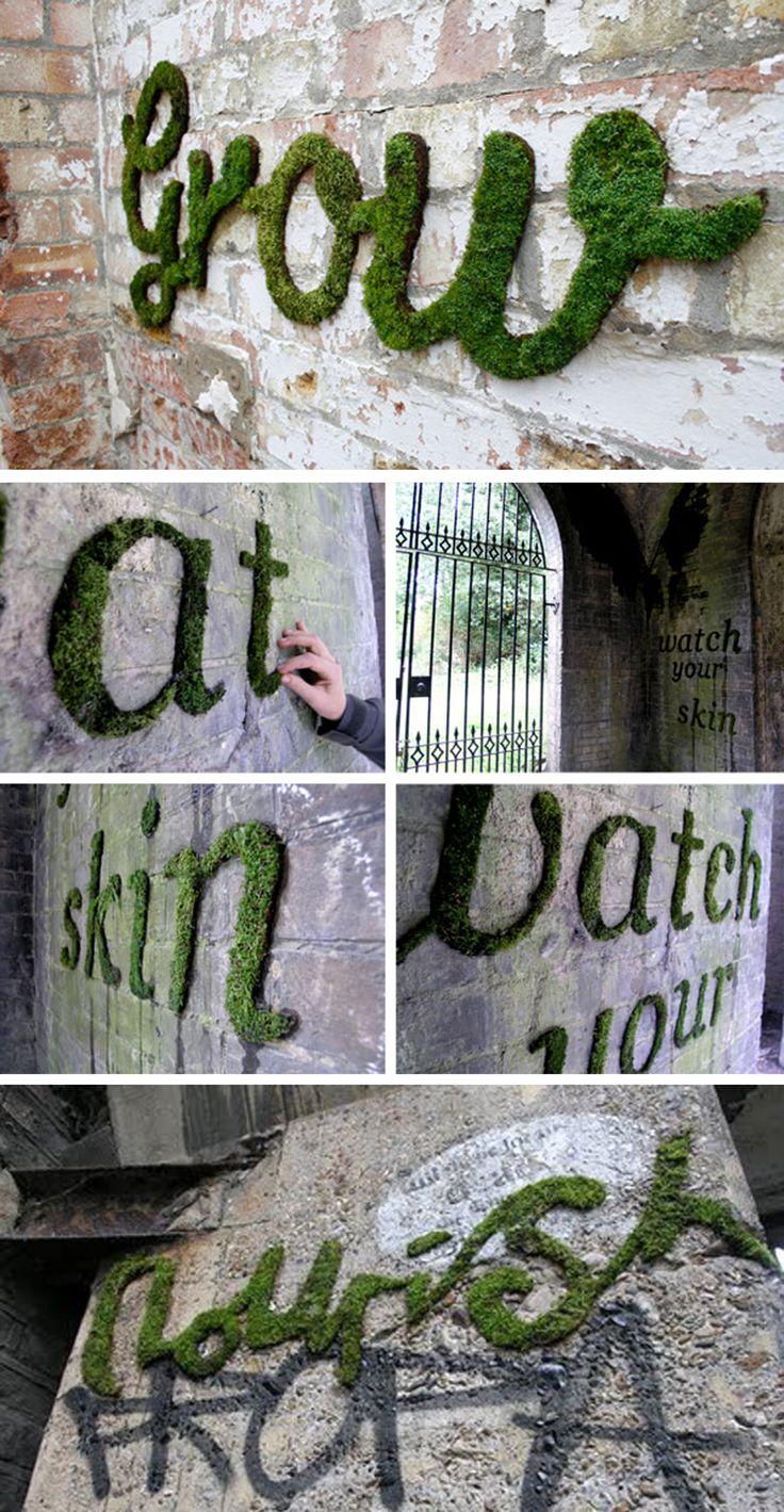 Meer dan 1000 ideeën over Mos Wand op Pinterest - Levende Muren ...