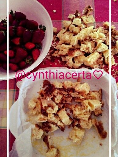 "Strawberry ""croissant"" puff,@cynthia certa"