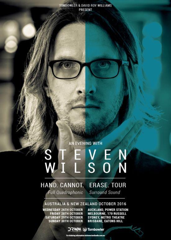 Steven Wilson 2016 tour