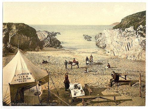 [Barricane Shell Beach, Mortehoe, England]  (LOC)