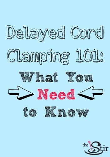 Cord clamping: Do you know everything you should??