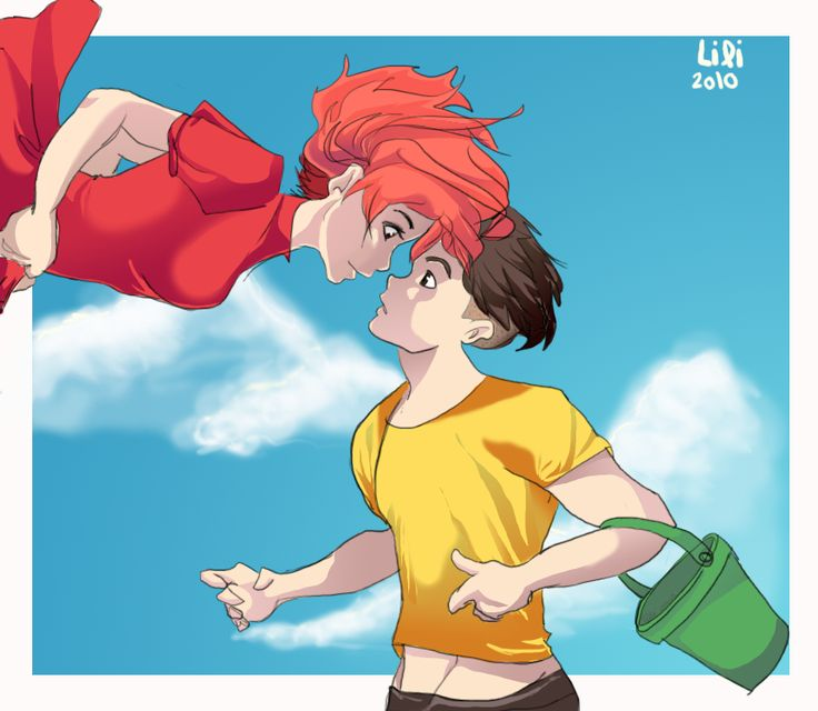 Older Ponyo and Sosuke by TT-RS.deviantart.com on ...