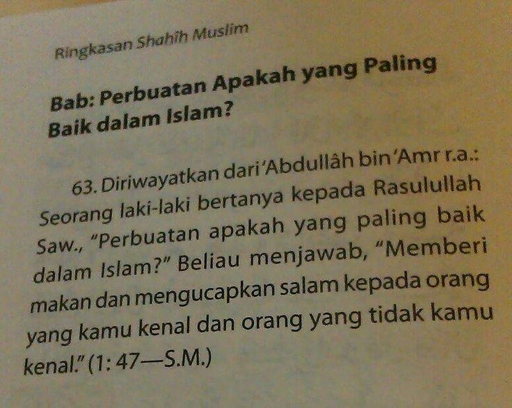 Perbuatan Paling Baik dalam Islam