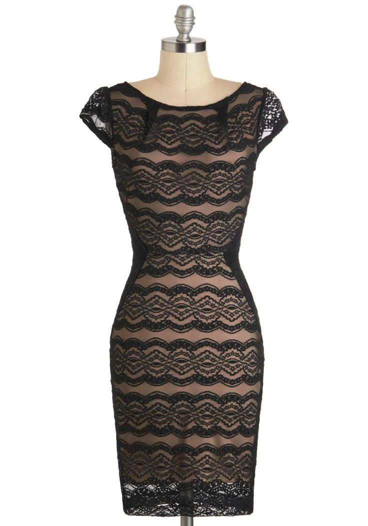 Lace dress cocktail girl