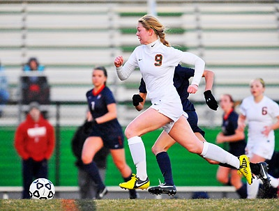 Kettle Run beats Fauquier to take lead in Evergreen District girls soccer standings