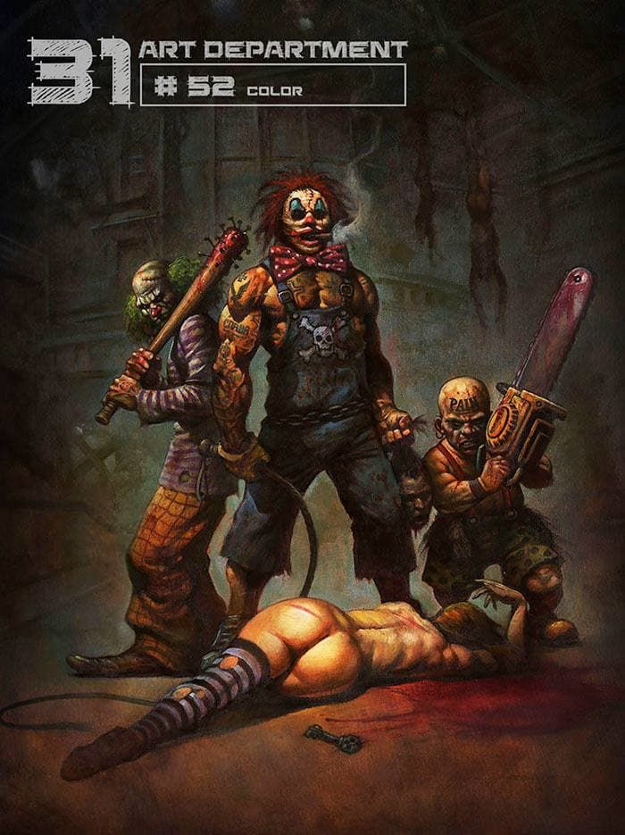 Rob Zombie talks about '31' and more concept art!