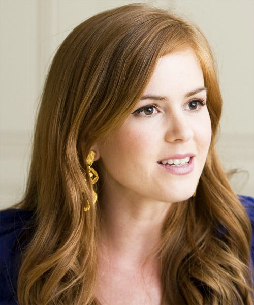 Isla Fisher Hairstyle - Long Wavy Casual -