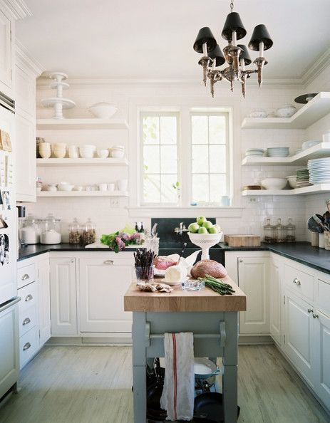 Tiny Island Of Your Own - Cool Kitchen Ideas - Photos