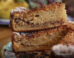 Ореховый пирог на сметане. Ингредиенты: пшеничная мука, ржаная мука, сметана | Кулинарный сайт Юлии Высоцкой: рецепты с фото